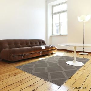 tapis scandinave oslo taupe taille 80 x 150 cm achat vente tapis cdiscount. Black Bedroom Furniture Sets. Home Design Ideas