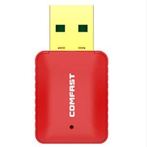 SERVEUR RÉSEAU COMFAST Cf-Wu925A Adaptateur Wifi 433 Mbps 5.8G +