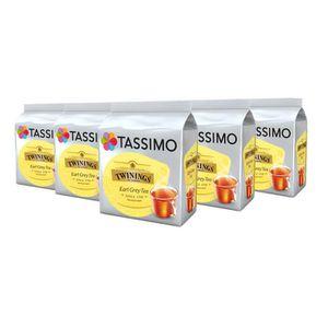 CAFÉ TASSIMO Twinings Earl Grey Tea, dosettes à café so