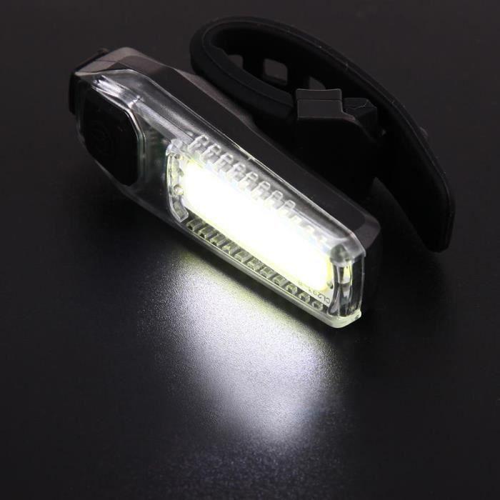 ECLAIRAGE POUR CYCLE Faire du vélo LED vélo feu arrière sécurité Avertissement lampe clignotant d'alarme LLZ70804725WH_hsp