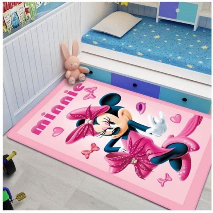 Tapis Mickey Minnie Tapis De Jeu Salon Chambre Tapis Enfants Chambre Tapis De Jeu Décoratif60*90cm[1331]