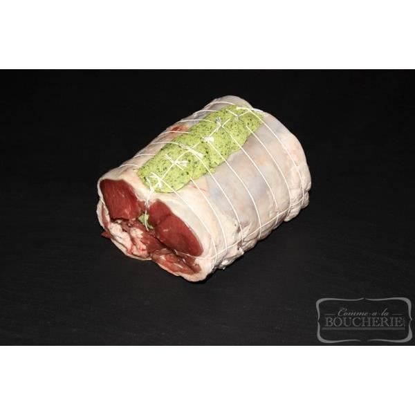 Rôti de selle d'agneau au beurre maître d'hôte - La pièce de 1,1kg