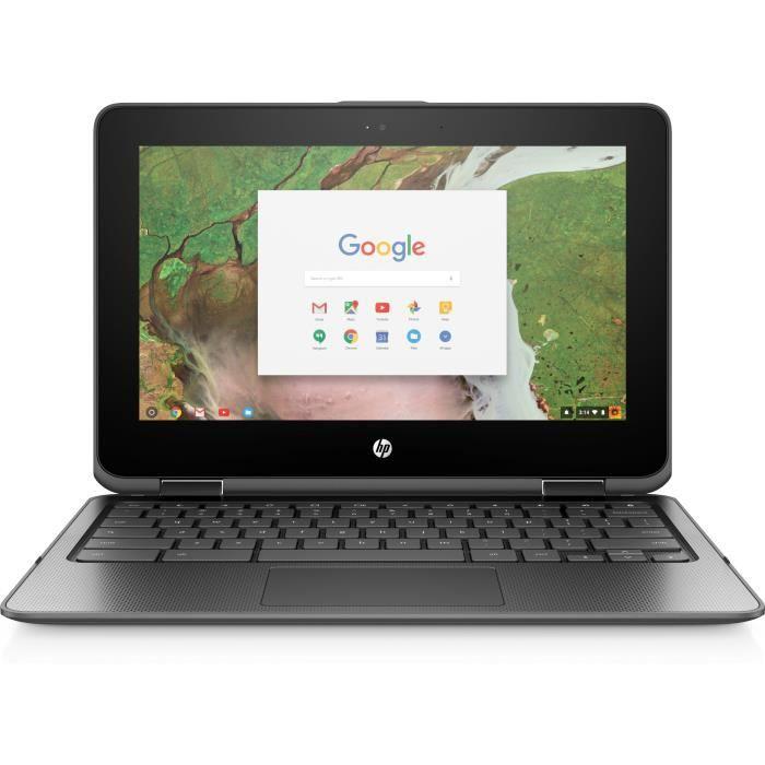 Hp Chromebook x360 11 G1 Education Edition conception inclinable Celeron N3350 / 1.1 Ghz Google Chrome Os 64 8 Go Ram