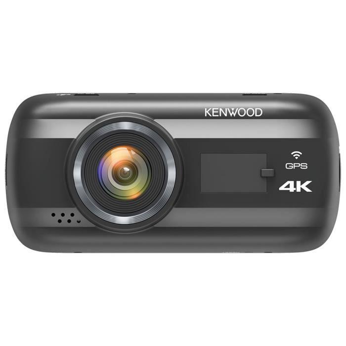 Kenwood DRV-A601W - Caméra embarquée 4K HD (3840 x 2160p à 30fps), Wi-Fi, accéléromètre G-Sensor 3 axes et GPS intégré ( Catégorie