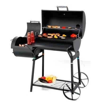 Barbecue XL familial tonneau américain - Avec f…