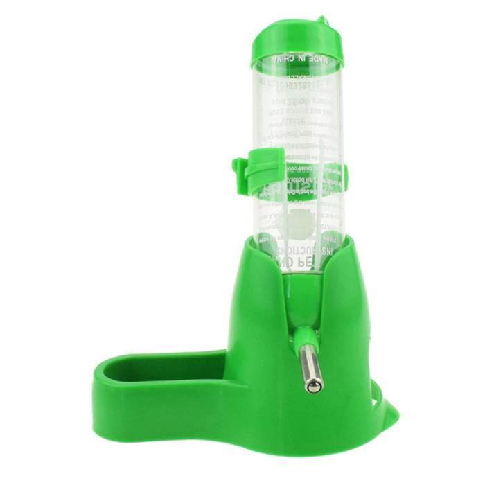 1 bouteille d'eau avec bol en plastique petit distributeur pour animaux de compagnie pour hamster Chinchilla cobaye BIBERON