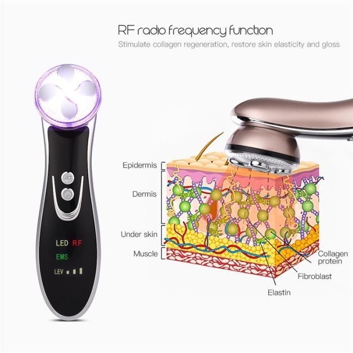 Appareil de massage facial de rajeunissement de peau d'EMS Lifting de visage serrant le dispositif anti-vieillissement de ride de be