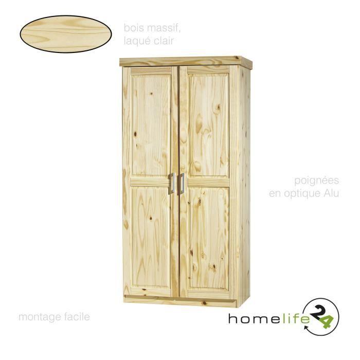 Armoire chambre adulte en bois