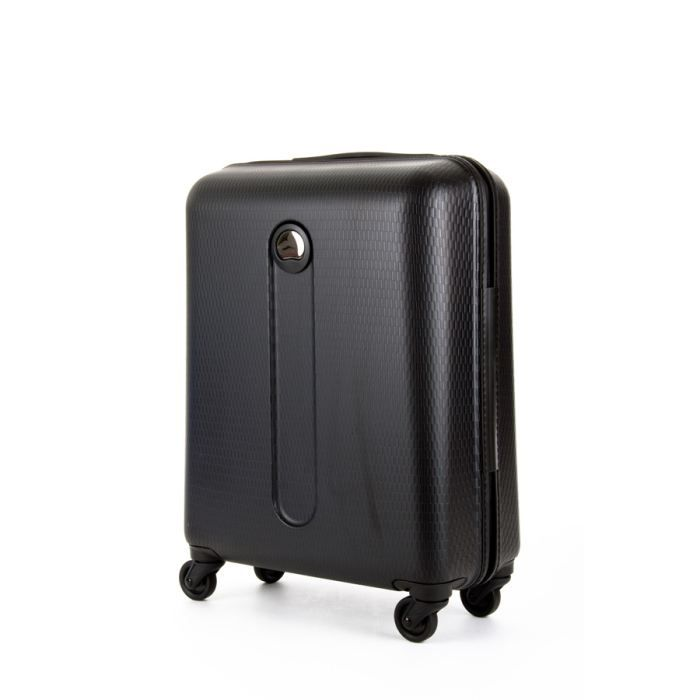 delsey valise cabine rigide helium 54cm noir noir achat. Black Bedroom Furniture Sets. Home Design Ideas