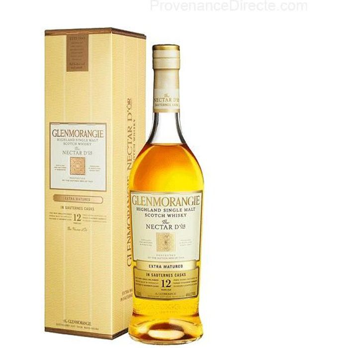 WHISKY BOURBON SCOTCH Whisky Glenmorangie Nectar d'Or 12 ans - 46°