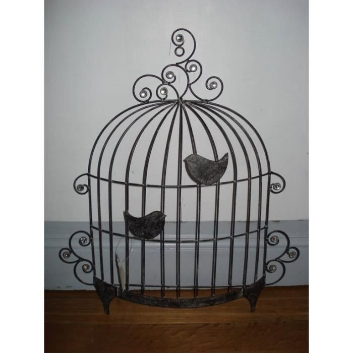 panneau d co murale m tal cage d 39 oiseau achat vente. Black Bedroom Furniture Sets. Home Design Ideas