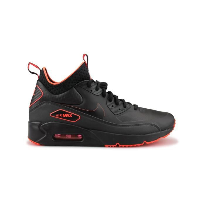 huge discount f6ec9 fb111 BASKET Baskets Nike Air Max 90 Ultra Mid Winter Se Noir
