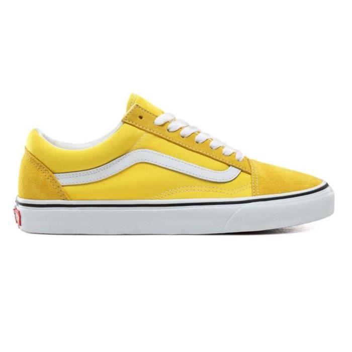 vans femme jaune 38