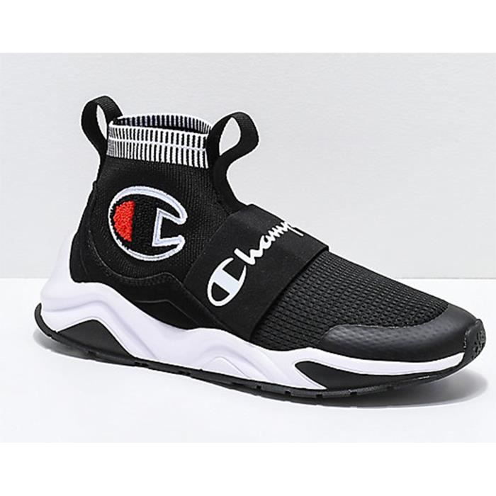 6c35b9eee6ba2 Noir High De Baskets Homme Rally Sneakers Champion Chaussures Course Pro  top Femme PrPAwEOCq