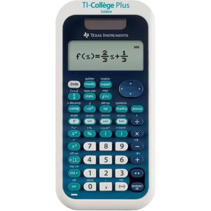 CALCULATRICE TEXAS INSTRUMENTS Calculatrice Scientifique TI Col