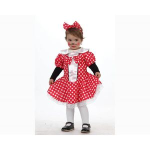 DÉGUISEMENT - PANOPLIE Déguisement de petite souris Minnie bébé fille