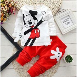 Ensemble de vêtements lot de 10 Mickey ensemble vêtement d'enfant 2 pièc