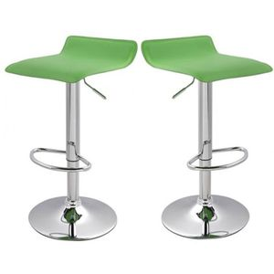 lot de 2 tabourets de bar vert achat vente lot de 2 tabourets de bar vert pas cher cdiscount. Black Bedroom Furniture Sets. Home Design Ideas