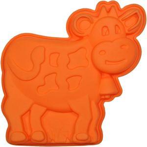 MOULE  Moule à Gateau en silicone Vache Forme Ludique …