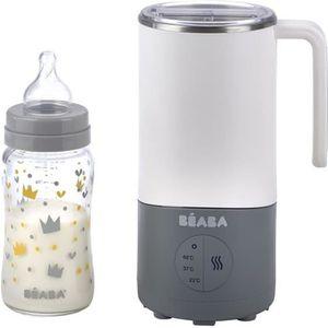 CHAUFFE BIBERON BEABA Milk Prep : Préparateur boisson - Gris/blanc