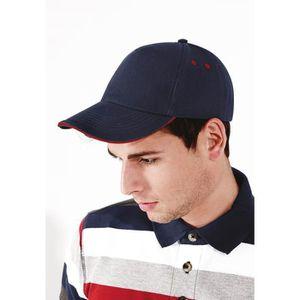 Lot de 5 ULTIMATE 5 Panneau Casquette de baseball homme femme coton réglable Caps