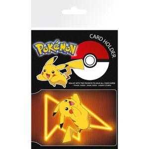 PORTE CARTE Porte Carte Pokemon Pikachu Neon