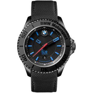 MONTRE Montre BMW Motorsport Noir Bleu Foncé Nylon Unisex