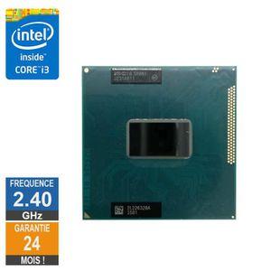 PROCESSEUR Processeur Intel Core i3-3110M 2.40GHz SR0N1 FCPGA