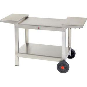 CHARIOT - SUPPORT Krampouz - chariot pour planchas 50-60-75cm - khea