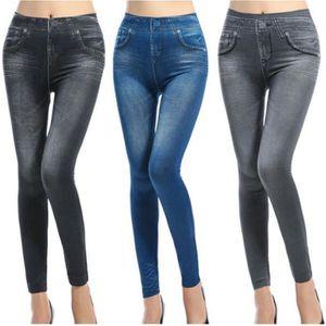 Femmes élégant light /& dark laver étiré skinny jeggings taille uk 8-14