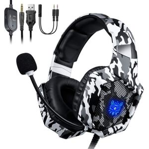 CASQUE AVEC MICROPHONE ONIKUMA Casque Gamer Nintendo switch PS4 Xbox one