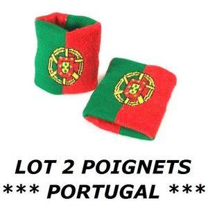 POIGNET ÉPONGE LOT 2 Bracelets poignet éponge 100% coton PORTUGAL