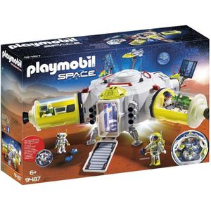 UNIVERS MINIATURE PLAYMOBIL 9487 - Space - Station spatiale Mission