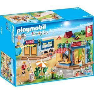 UNIVERS MINIATURE PLAYMOBIL 70087 - Family Fun - Grand camping - Nou