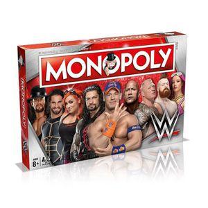 JEU SOCIÉTÉ - PLATEAU Jeu de société - Monopoly - Winning Moves WWE