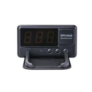 AFFICHAGE PARE-BRISE C60 Universal HUD GPS compteur de vitesse tête hau