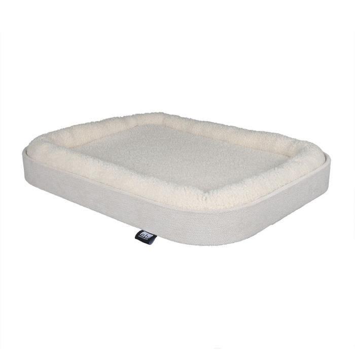 EBI Panier Kyo - 50 x 40 x 6 cm - Blanc - 2,8 kg - Pour chat