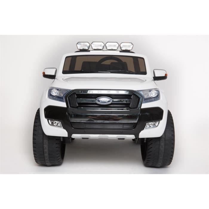 Ford Ranger 4x4 MP4 LUXURY Blanc - Voiture électrique pour enfant avec batterie 12v et télécommande