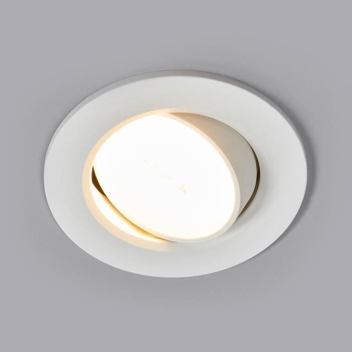 Lampenwelt spot encastrable LED pour cuisine Quentin