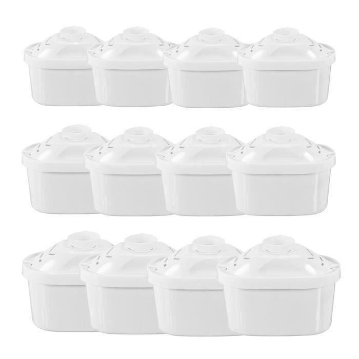 Pack de 12 Cartouches Filtres pour Brita Maxtra Carafe Filtrante Bouilloire Pièce de Rechange L770 D02B08