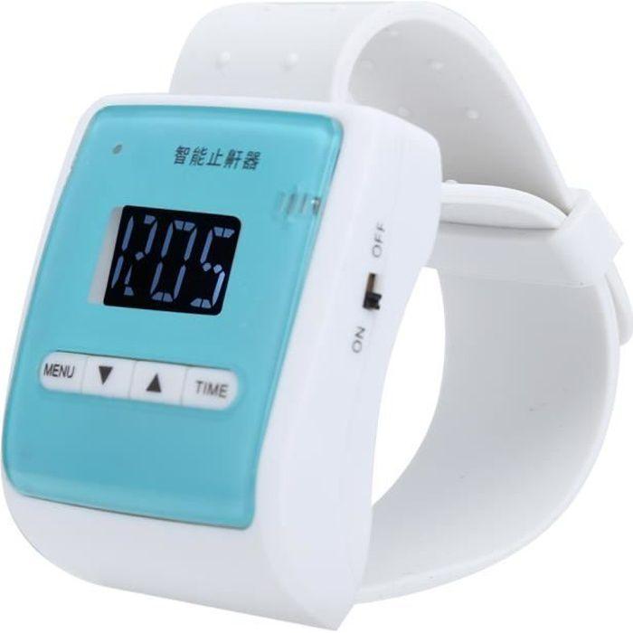 ZJCHAO Montre anti-ronflement Bouchon de Ronflement Électronique Domestique Intelligent Montre Bracelet Anti-Ronflement