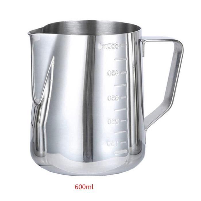 Moule,350-600-900ml acier inoxydable lait mousseur cruche expresso pichet Barista artisanat café Latte mousseur - Type Vert clair