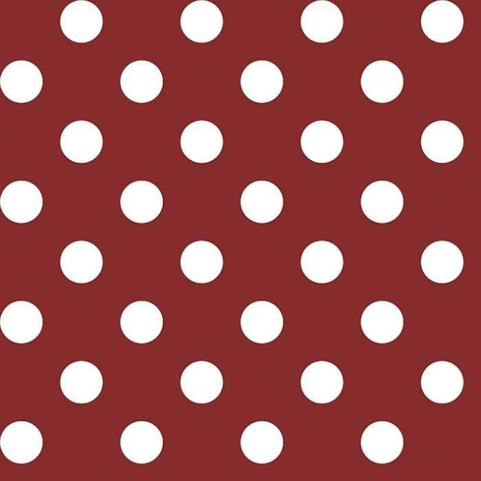 D-C-TABLE - Nappe ovale manhattan venita rouge 150x250cm