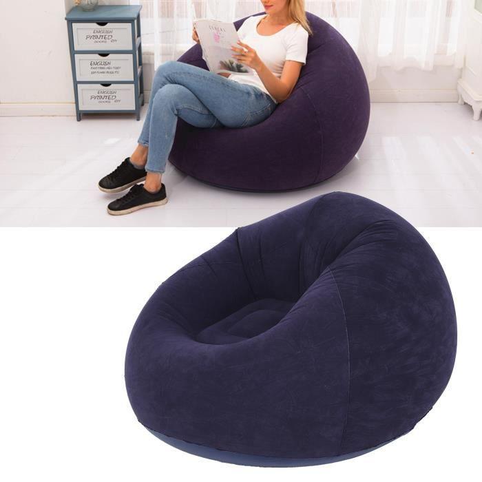 Chaise canapé sphérique simple gonflable ultra douce pour pique-nique camping voyage en plein air dortoir