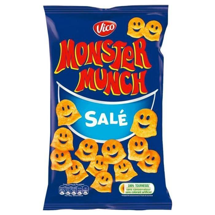 Monster Munch Salé 80g (lot de 10 x 6 sachets)