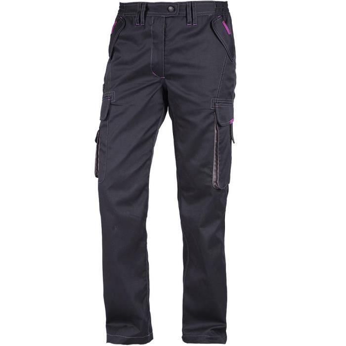 NORTH WAYS Pantalon de travail Minola - Femme - Noir