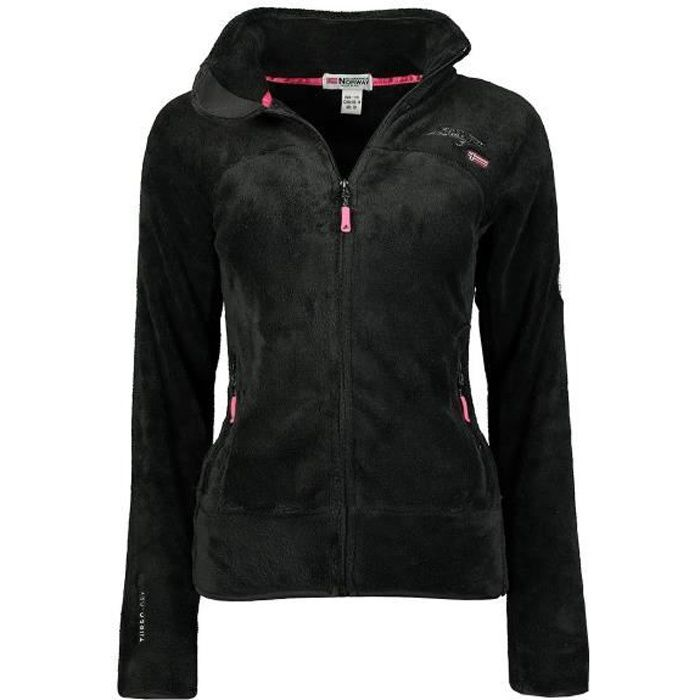 Polaire Femme Geographical Norway Upaline DB007 Noir