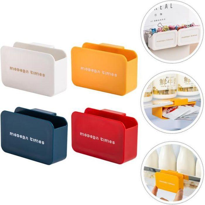 4 Pièces multi-usages Pendaison Réfrigérateur Boîte Porte de Rangement Suspendu refrigerateur classique froid