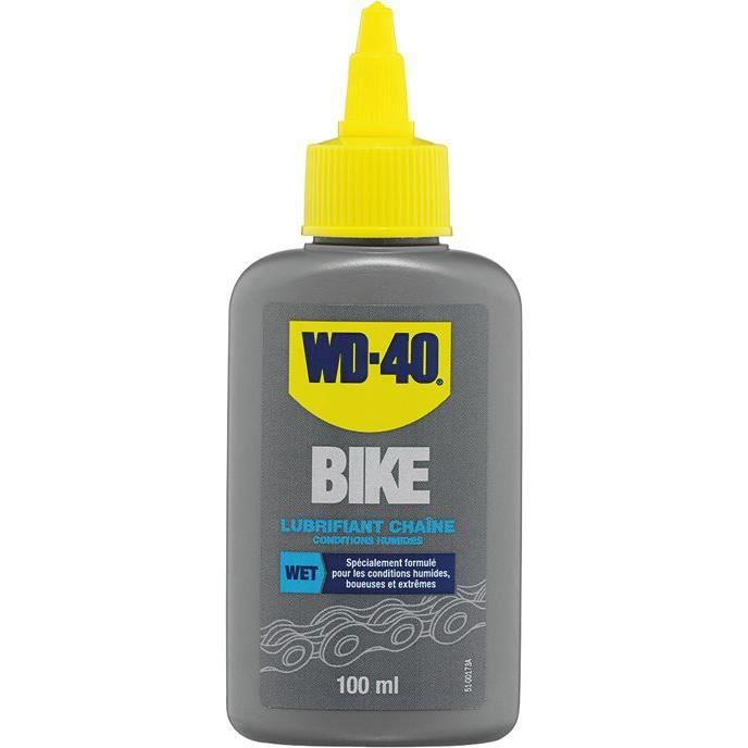Wd40 bike lubrifiant chaine conditions humides 100ml