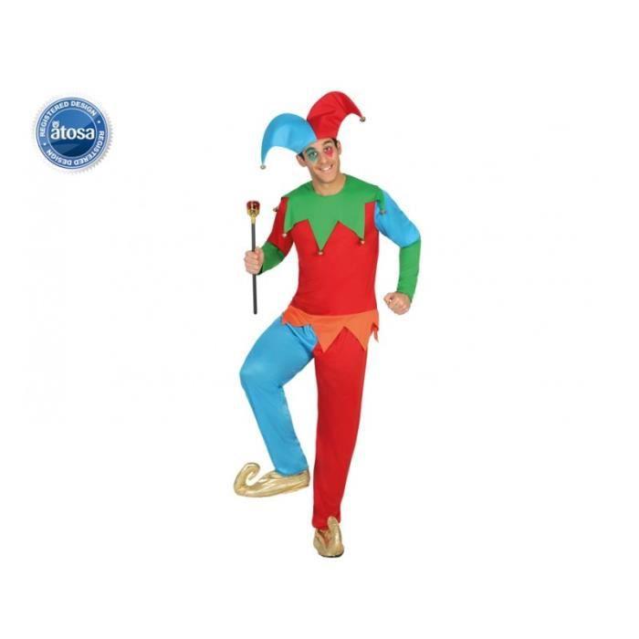 DÉGUISEMENT - PANOPLIE Costume Adulte Arlequin taille M/L